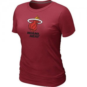 T-Shirt NBA Rouge Miami Heat Big & Tall Femme