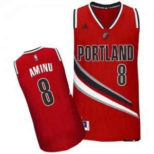Maillot NBA Swingman Al-Farouq Aminu #8 Portland Trail Blazers Alternate Rouge - Homme