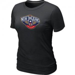 T-shirt principal de logo New Orleans Pelicans NBA Big & Tall Noir - Femme