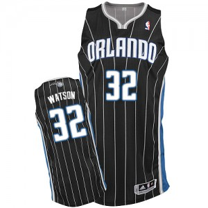 Maillot NBA Authentic C.J. Watson #32 Orlando Magic Alternate Noir - Homme