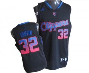 Los Angeles Clippers Blake Griffin #32 Vibe Authentic Maillot d'équipe de NBA - Noir pour Homme