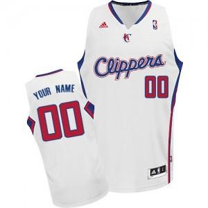 Los Angeles Clippers Swingman Personnalisé Home Maillot d'équipe de NBA - Blanc pour Enfants