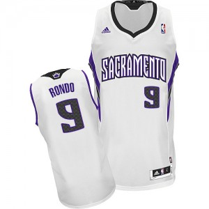 Maillot NBA Swingman Rajon Rondo #9 Sacramento Kings Home Blanc - Enfants