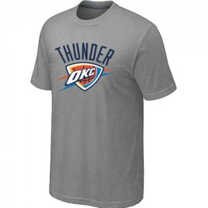 T-Shirt NBA Oklahoma City Thunder Gris Big & Tall - Homme