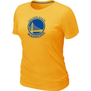 T-Shirt NBA Golden State Warriors Jaune Big & Tall - Femme