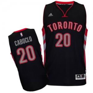 Maillot NBA Swingman Bruno Caboclo #20 Toronto Raptors Alternate Noir - Homme