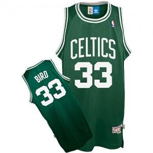 Maillot Adidas Vert Throwback Swingman Boston Celtics - Larry Bird #33 - Enfants