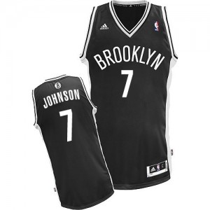 Maillot NBA Swingman Joe Johnson #7 Brooklyn Nets Road Noir - Homme