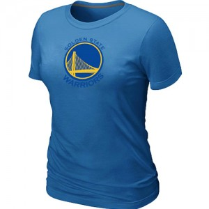 T-Shirt NBA Golden State Warriors Bleu clair Big & Tall - Femme