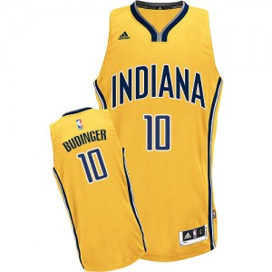 Maillot Adidas Or Alternate Swingman Indiana Pacers - Chase Budinger #10 - Homme