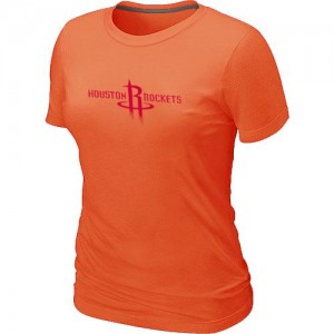 T-Shirt NBA Houston Rockets Big & Tall Orange - Femme