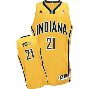 Maillot Swingman Indiana Pacers NBA Alternate Or - #21 A.J. Price - Homme