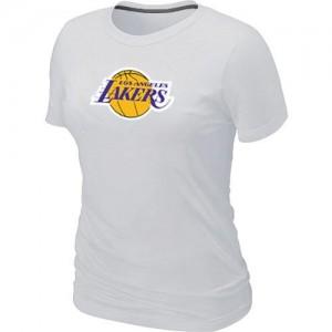 T-Shirt NBA Los Angeles Lakers Blanc Big & Tall - Femme