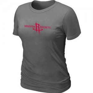 Houston Rockets Big & Tall Gris foncé T-Shirt d'équipe de NBA Le meilleur cadeau - pour Femme