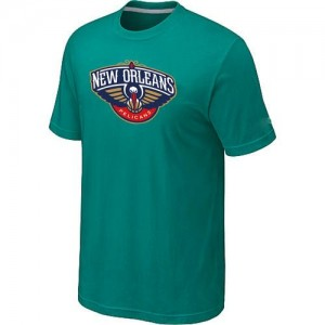 New Orleans Pelicans Big & Tall Aqua Green T-Shirt d'équipe de NBA pas cher - pour Homme