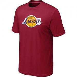 Los Angeles Lakers Big & Tall Rouge T-Shirt d'équipe de NBA Vente pas cher - pour Homme