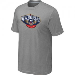 T-Shirt NBA Gris New Orleans Pelicans Big & Tall Homme
