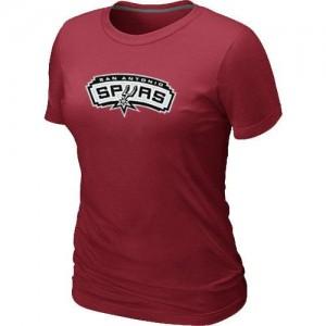 San Antonio Spurs Big & Tall T-Shirt d'équipe de NBA - Rouge pour Femme