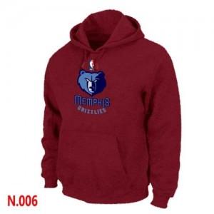 Sweat à capuche NBA Memphis Grizzlies Rouge - Homme