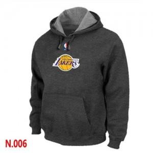 Los Angeles Lakers Sweat à capuche d'équipe de NBA - Gris foncé pour Homme