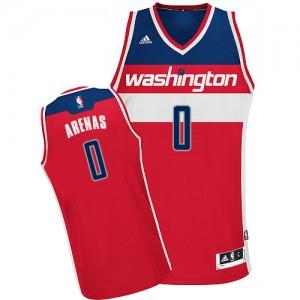 Maillot Swingman Washington Wizards NBA Road Rouge - #0 Gilbert Arenas - Homme