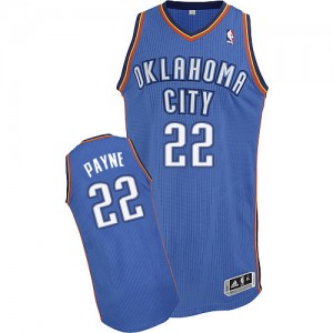 Maillot Authentic Oklahoma City Thunder NBA Road Bleu royal - #22 Cameron Payne - Homme