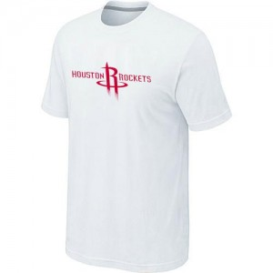 T-Shirt NBA Houston Rockets Blanc Big & Tall - Homme