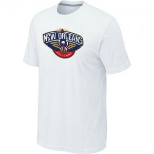 T-Shirt NBA New Orleans Pelicans Blanc Big & Tall - Homme