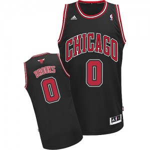 Maillot Swingman Chicago Bulls NBA Alternate Noir - #0 Aaron Brooks - Homme
