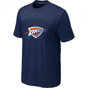Oklahoma City Thunder Big & Tall T-Shirt d'équipe de NBA - Marine pour Homme