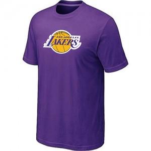 Los Angeles Lakers Big & Tall Violet T-Shirt d'équipe de NBA préférentiel - pour Homme