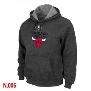 Sweat à capuche NBA Chicago Bulls Noir - Homme