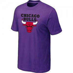 T-Shirt NBA Chicago Bulls Big & Tall Violet - Homme