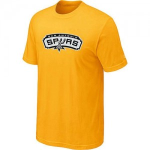 T-Shirt Jaune Big & Tall San Antonio Spurs - Homme