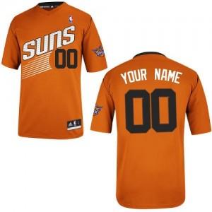 Phoenix Suns Authentic Personnalisé Alternate Maillot d'équipe de NBA - Orange pour Homme