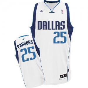 Maillot NBA Swingman Chandler Parsons #25 Dallas Mavericks Home Blanc - Homme