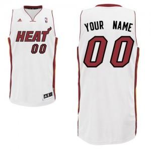 Maillot NBA Swingman Personnalisé Miami Heat Home Blanc - Enfants