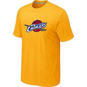 Cleveland Cavaliers Big & Tall Jaune T-Shirt d'équipe de NBA en soldes - pour Homme