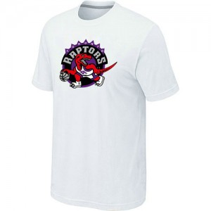 T-Shirt Blanc Big & Tall Toronto Raptors - Homme